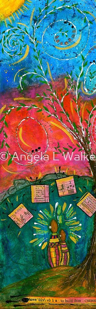 Cherished Songbirds by © Angela L Walker