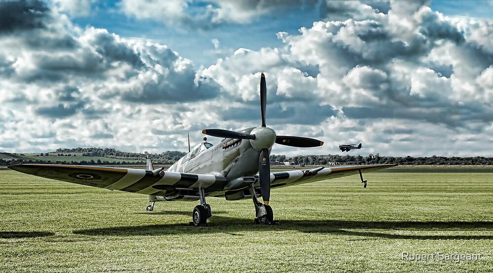"Supermarine Spitfire ' A True Hero"" by Rupert Sargeant"