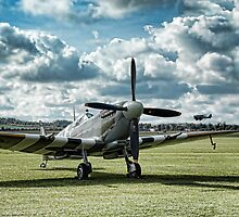 "Supermarine Spitfire ' A True Hero"" by Rupert Sargeant"