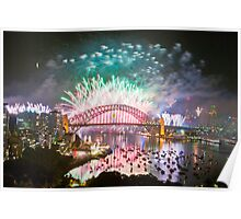 Simply The Best ! - Sydney NYE Fireworks  #11 Poster
