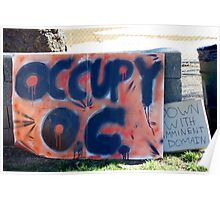 Occupy Orange County Poster