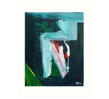 Homage To Franz Kline 2010 Art Print