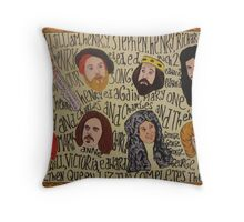 Horrible Histories - Kings and Queens Throw Pillow