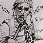 Silent Singer - Psychoville by aislinndraws