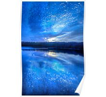 When The Blues of the Night - Narrabeen Lakes Sydney - The HDR Experience Poster