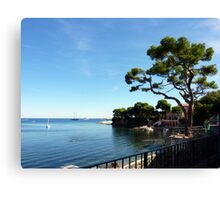 Walking Around Cap Ferrat Canvas Print