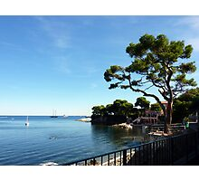 Walking Around Cap Ferrat Photographic Print