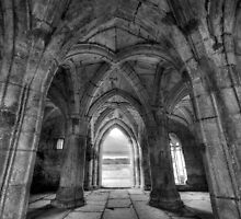 Valle Crucis Abbey by James Farley