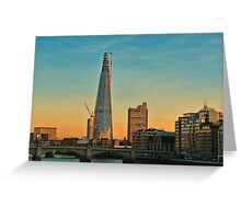 Building Shard Greeting Card