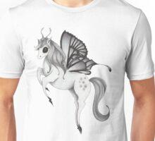 Tiptoe Butterfly Pegasus Unisex T-Shirt