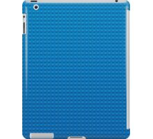 LEGO blue iPad Case/Skin
