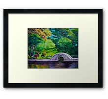 A Peaceful Place in Hiroshima Framed Print