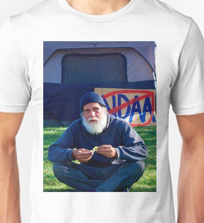 Occupy protestor Unisex T-Shirt