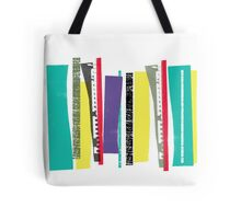 Strips of Colour Tote Bag