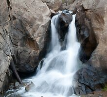 Boulder Falls by RedOwlPhoto