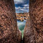 Rock City Peek by Bob Larson