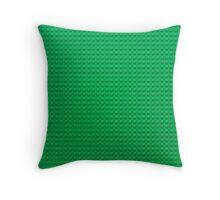 LEGO green Throw Pillow