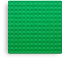 LEGO green Canvas Print