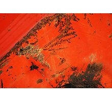 Grunge Abstract Photographic Print