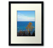 Arcadia Overlook Framed Print