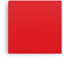 LEGO red Canvas Print