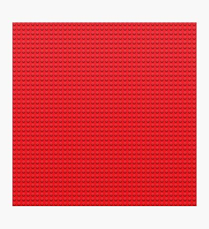 LEGO red Photographic Print