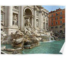 Trevi Fountain, Rome Poster