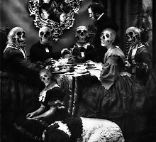 Meal Before  the Seance. by Andrew Nawroski