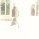 Guy, Bag, Walking by Tim Ruane