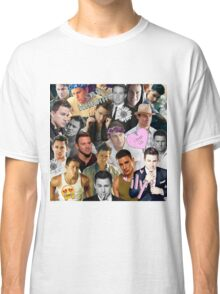 Channing Tatum Collage Classic T-Shirt