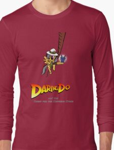 Daring Do and the Quest for the Sapphire Stone Long Sleeve T-Shirt