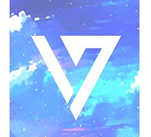 Pretty Pink/Purple/Blue Pastel Sky Seventeen Kpop iPhone and Samsung Case by rincakes