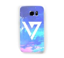 Pretty Pink/Purple/Blue Pastel Sky Seventeen Kpop iPhone and Samsung Case Samsung Galaxy Case/Skin