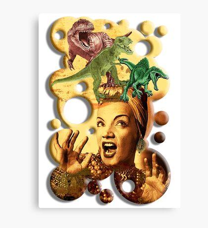 Jurassic Miranda Canvas Print