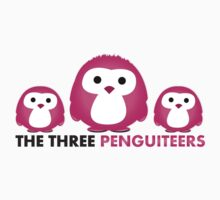 The three Penguiteers by idGee Designs