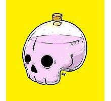 Bottle skull Photographic Print