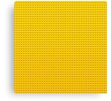 LEGO yellow Canvas Print
