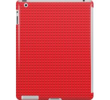 LEGO red iPad Case/Skin