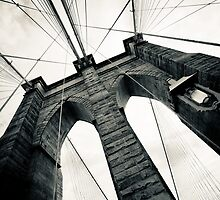 Brooklyn Bridge, New York City by danwa