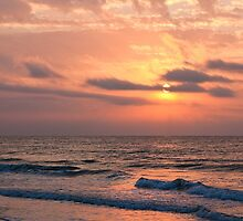 Beach Sunrise II, Ocean Isle Beach, NC by Denise Worden