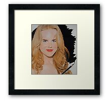 Hows that look? Framed Print