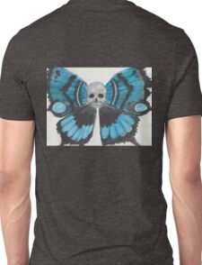 Skull With Butterfly Wings Unisex T-Shirt