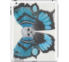 Skull With Butterfly Wings iPad Case/Skin