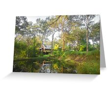 Thirlmere Morning Reflections Greeting Card