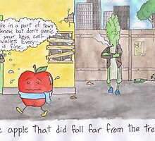 The Apple That Did Fall Far from the Tree by YLGcomic