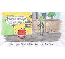 The Apple That Did Fall Far from the Tree Photographic Print
