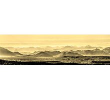 Golden Hills Of The Tonto Photographic Print