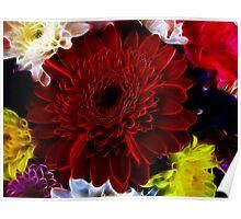 Flower Fractal Poster