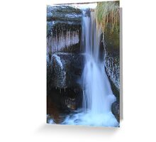 Ice, Rock and Water, River Swale 03-Feb-2012ad. Greeting Card