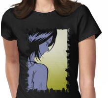 FADE TO BLACK RUKIA VERSION 1 - BLEACH (RUKIA) Womens Fitted T-Shirt